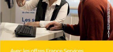 France services. Accompagnement pour effectuer des démarches en ligne